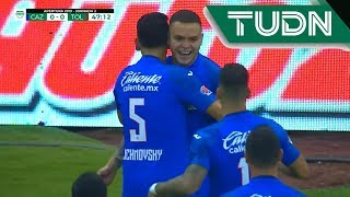 Gol de Rodríguez | Cruz Azul 1 - 0 Toluca | Liga MX - Ap19 | TUDN México