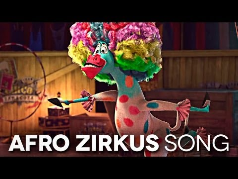 Madagascar 3 - Afro Zirkus Deutsch HD 2012