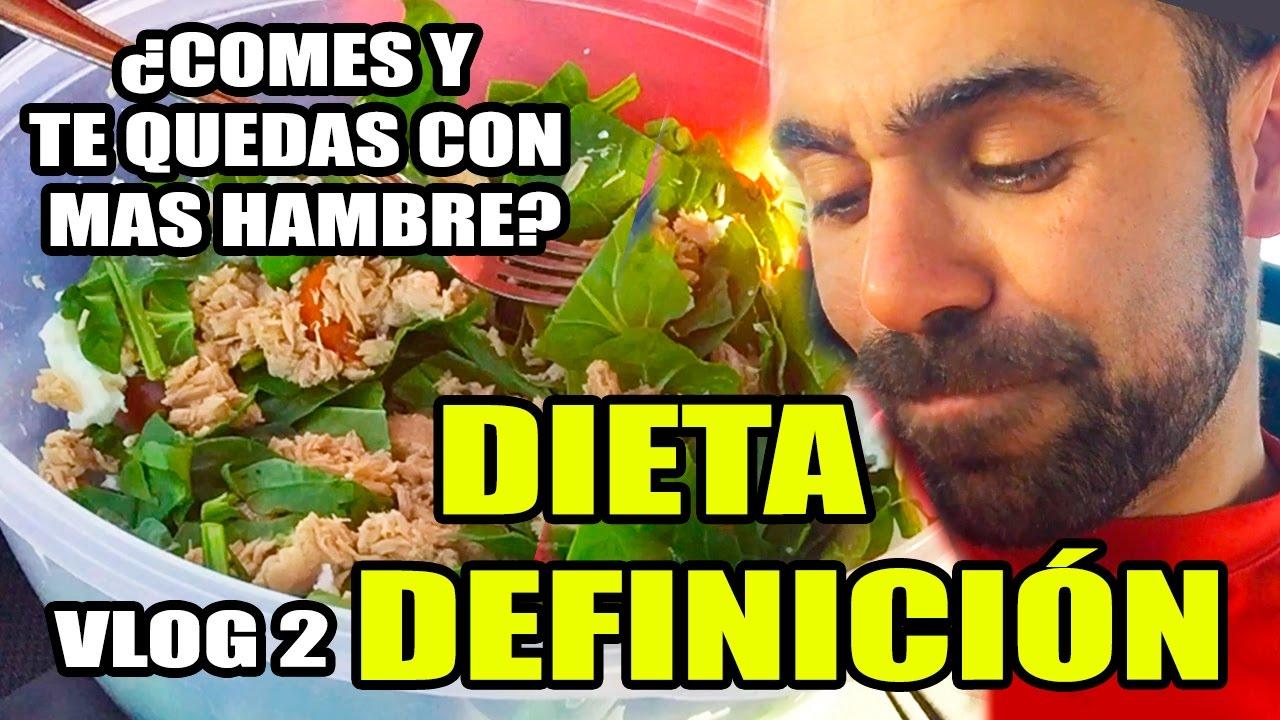 Dieta definici n muscular marcar abdominales vlog for Dieta definicion