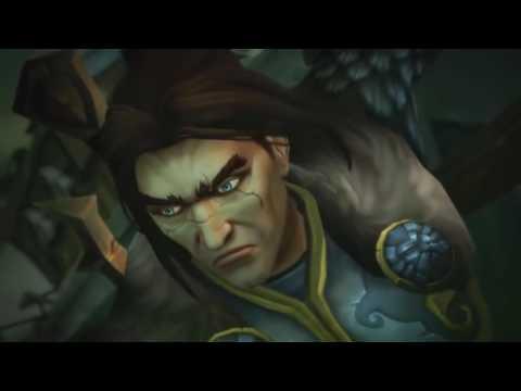 World of Warcraft: Legion - Alliance storming the Legion cutscene - 1080p