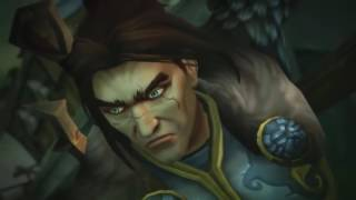 World of Warcraft: Legion - Alliance storming the Legion cutscene - 1080p