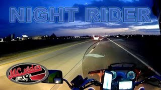 Watch this before you ride a motorcycle at night