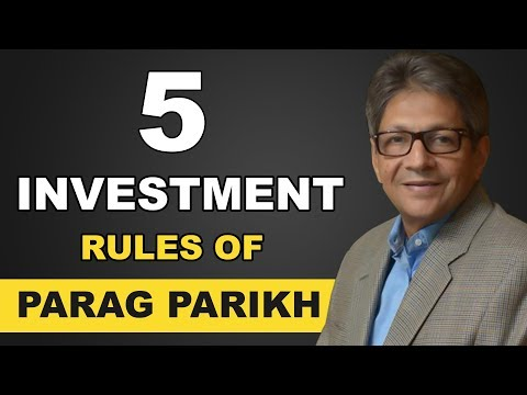 5 Investment rules of Parag Parikh