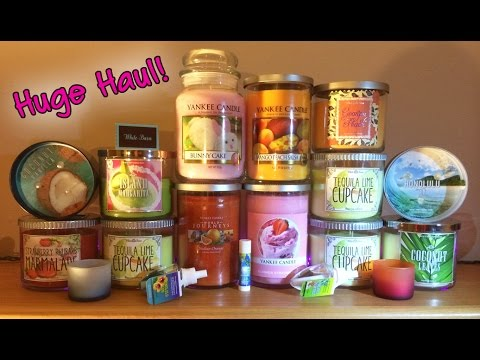 HUGE HAUL!! White Barn Candle, Bath & Body Works, and Yankee Outlet Shopping