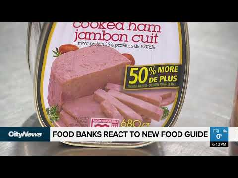 Food Banks React To Canada's New Food Guide
