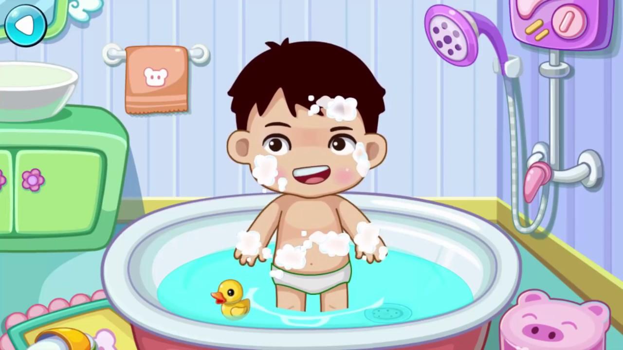 Dibujos animados baby bathroom toilet training lavado de for Accesorios bano para ninos