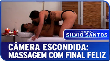 Câmera Escondida: Massagem com Final Feliz
