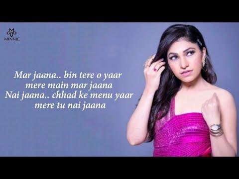 nai-jaana-full-song-with-lyrics-tulsi-kumar-|-sachet-tandon-|-awez-d,-musskan-s,-anmol-b