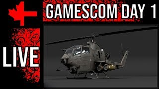 War Thunder - TEC Gamescom 2018 Coverage - Day 1
