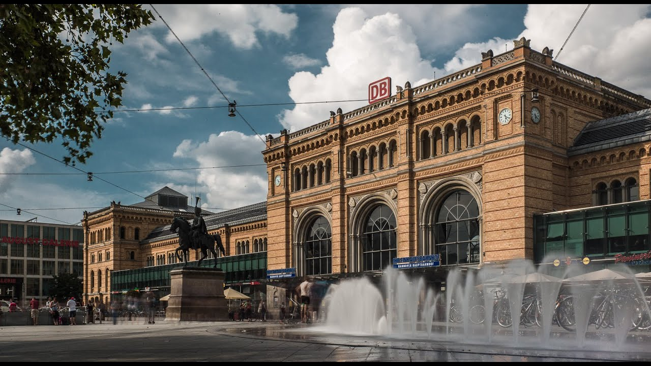 Hannover Hauptbahnhof YouTube