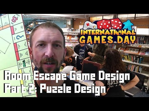 Making an Escape Room Game - #2 Puzzle Design
