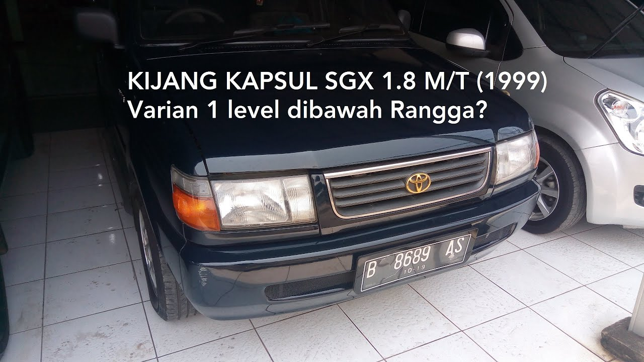 "Download Toyota Kijang ""Kapsul"" [KF70] SGX 1.8 M/T (1999) - Indonesia"