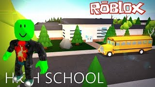 I WILL IN A HANTÉE SCHOOL ROBLOX ROLEPLAY