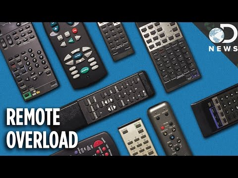 Why Do We Need SO MANY Remote Controls?