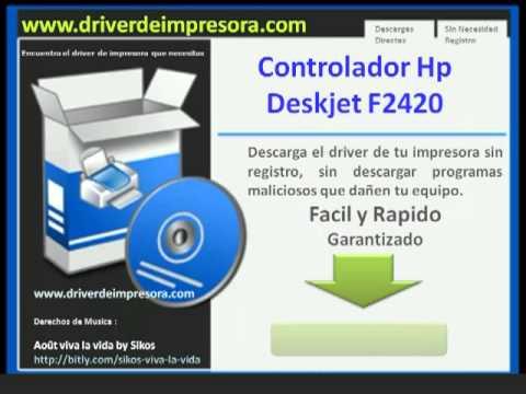 Hp deskjet f2420 all-in-one printer drivers for windows 10, 8, 7.