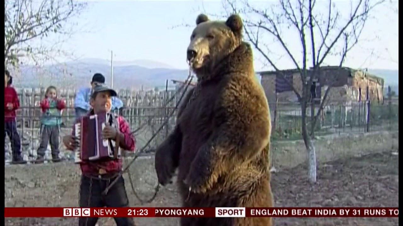 Romania's new year bear dancers – Alecsandra Raluca Drăgoi's best photograph