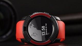 Видеообзор умных часов Smart Watch V8