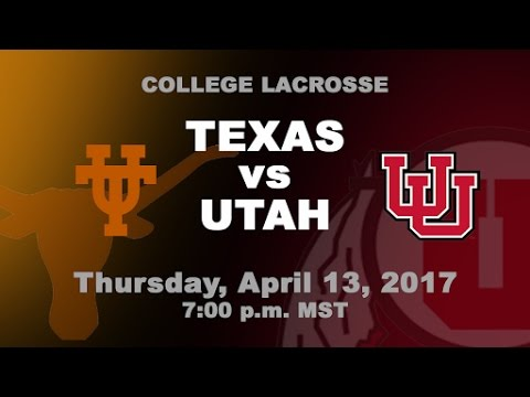 Texas at #7 Utah | MCLA D1 Men's Lacrosse Game