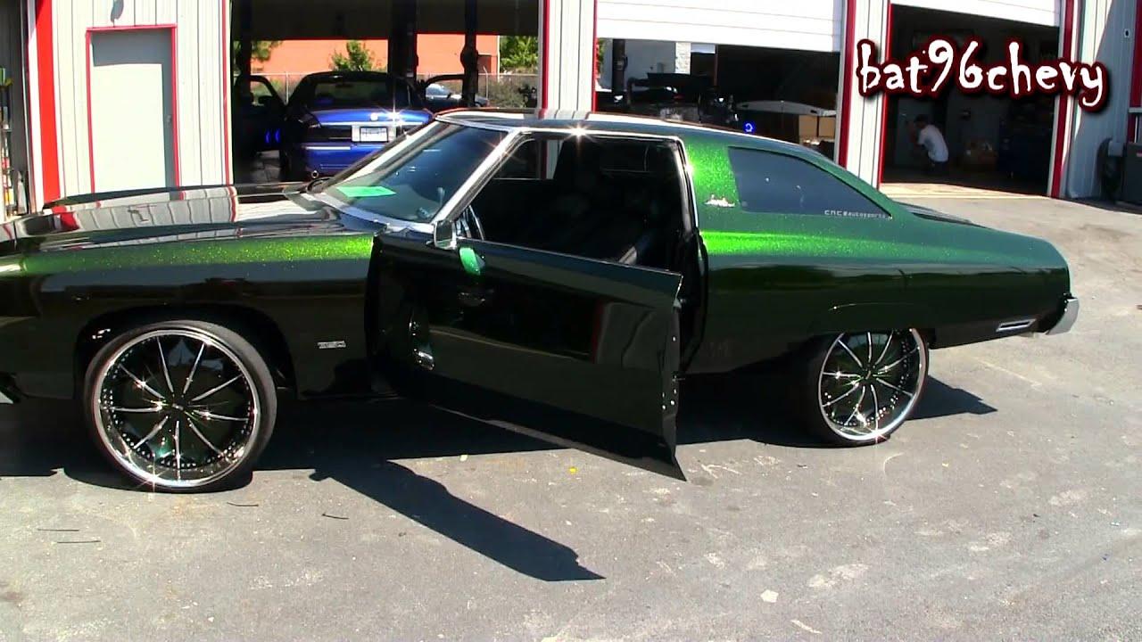 medium resolution of ultimate audio interior job 1974 chevy impala donk on 24 s 1080p hd youtube