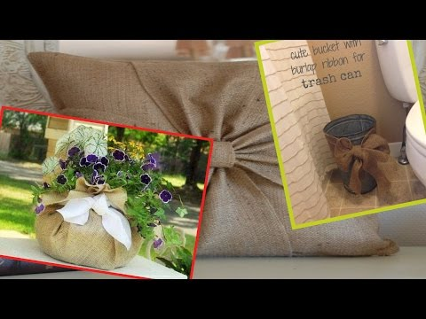 30 Simple Breathtakingly Ingenious and Beautiful Burlap DIY Fall Decor For Your Home
