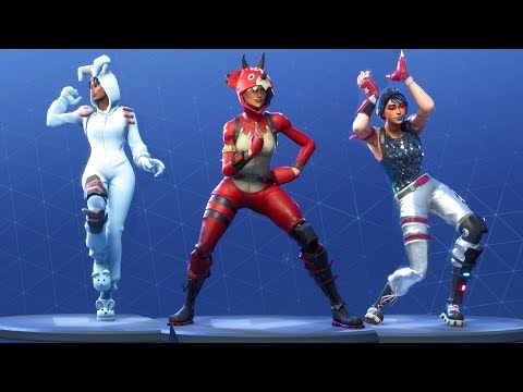 Fortnite All Dances Season 1 to 4 Mp3