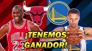 EL PARTIDO SOÑADO: BULLS DE JORDAN VS WARRIORS DE CURRY (NBA 2K19)