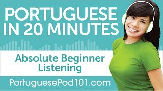 Baixar 20 Minutes of Portuguese Listening Comprehension for Absolute Beginner
