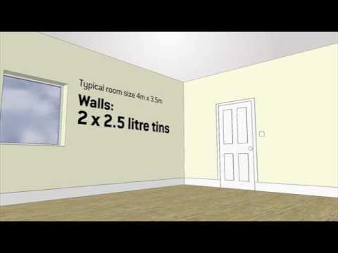 How Much Paint Do I Need for a Room  YouTube
