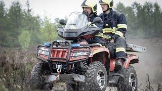 POŽÁRY.cz: V Brdech proběhlo taktické cvičení hasičů s reálnou simulací hoření vřesoviště