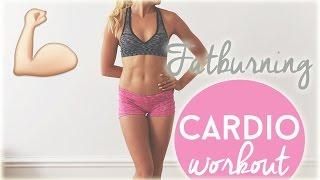 Fatburning Cardio Workout ♥ No equipment
