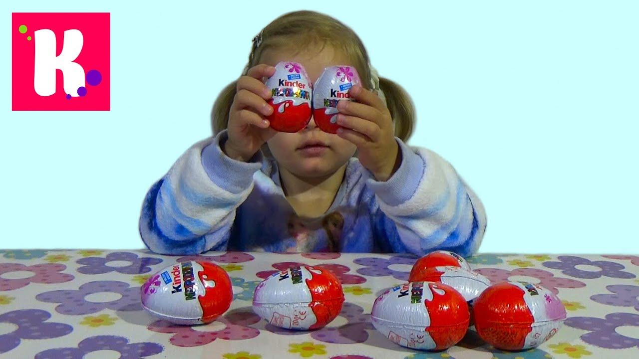 Май Литл Пони МЛП сюрприз Киндер распаковка игрушек MLP Kinder Surprise toys