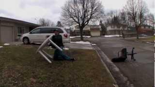 Patio Table Death Stunts