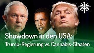 Showdown in den USA: Trump-Regierung gegen Cannabis-Staaten | DHV News #151