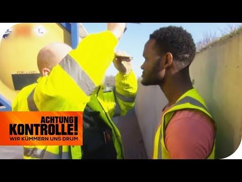 Auffälliger LKW-Fahrer: Steht er unter Drogen? | Achtung Kontrolle | kabel eins