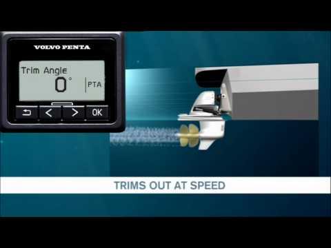 Power tilt and trim – Volvo Penta's Powertrim assistant