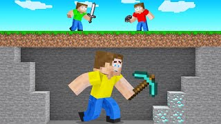 GIANT SPEEDRUNNER VS Hunters In Minecraft!
