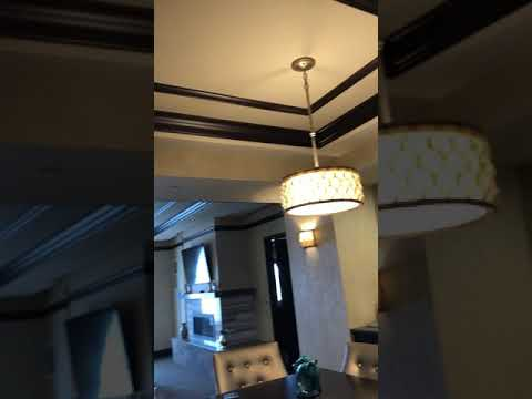 My stay at the Saratoga Casino Hotel, Harriman Suite.