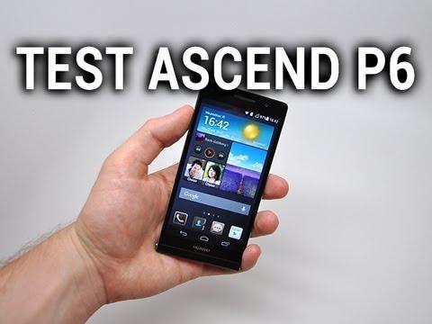Test du Huawei Ascend P6 - par Test-Mobile.fr