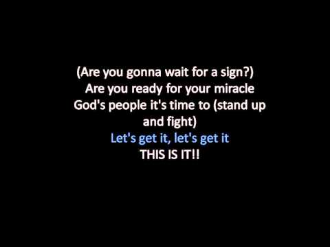 Declaration (This Is It) Kirk Franklin- Lyrics