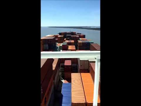 Ship Transit down the Lower Mississippi River by the Associated Branch Pilots 1