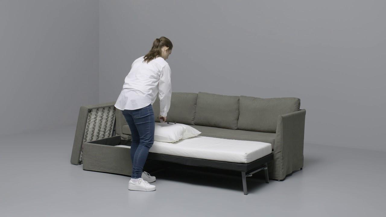 Ikea br thult hoekslaapbank youtube for Recensioni elettrodomestici ikea