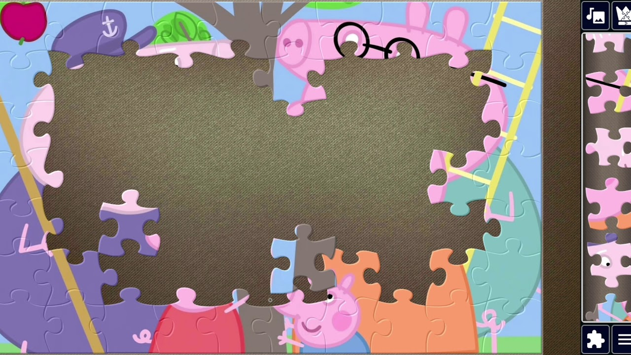 PEPPA PIG AMAZING JIGSAW PUZZLES FOR KIDS |  THE BLACKBERRY BUSH