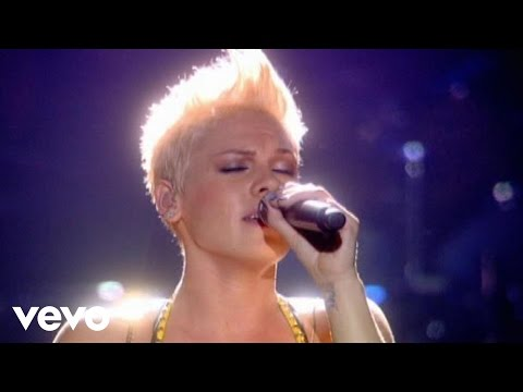 P!nk - Nobody Knows (Live From Wembley Arena, London, England (Mobile Video))