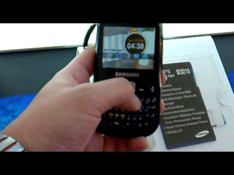 Samsung Corby TXT Hands-on