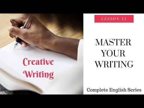 Complete English Series Creative Writing Video Lesson 11