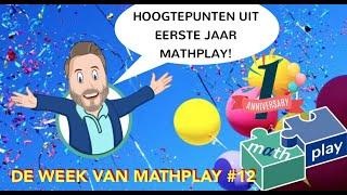 Hoogtepunten van eerste jaar Mathplay - DWVM #12