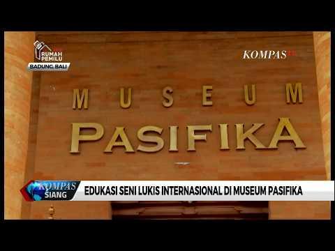 Edukasi Seni Lukis Internasional di Museum Pasifika