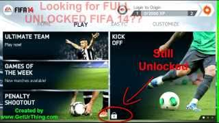 Fifa 14 Full Unlocked - Download Working Android APK [Watch Proven Tutorial]
