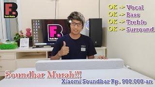test Speaker Soundbar Murah 900 ribuan  Unboxing & Review Speaker Soundbar Xiaomi