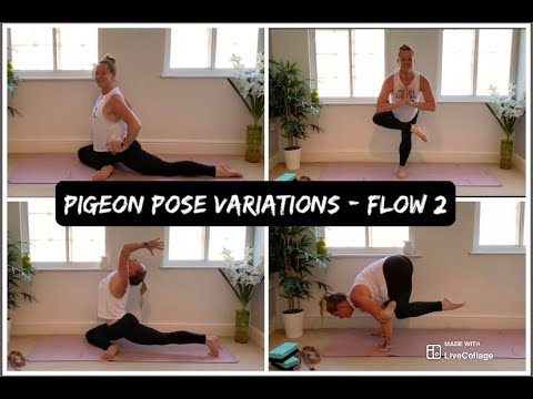 10 min yoga flow  pigeon pose variations part 2  youtube